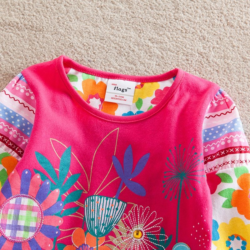 HTB1e Nnbjgy uJjSZSyq6zqvVXaz - Girls Long Sleeve All Year T-Shirt, Long Sleeve, Cotton, Various Designs and Prints