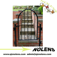 small gate design/Wrought Iron Outdoor Gates For Home/Garden/Villa/Factory ,Best Sellings LIsted Products