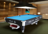 factory supply China manufacturer Solid wood hand carved pool table 8ft