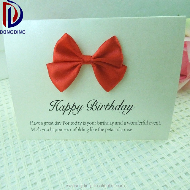 Buy cheap china handmade greeting card designs products find china wholesale handmade designer birthday greeting card with ribbon bow m4hsunfo