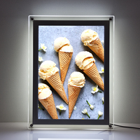 A1 A2 A3 A4 advertising display poster frames Acrylic led menu light box
