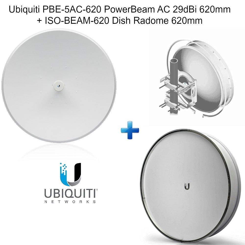 Ubiquiti PBE-5AC-620 PowerBeam AC 5GHz 29dBi 620mm + ISO-BEAM-620 Radome 620mm