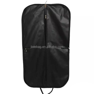 New trend foldable luxury clothes travel Breathable non woven suit bag