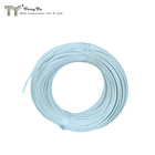 Fiberglass braided silicone insulation heat resistant wire, tin plated, single core, 14gauge, 300v