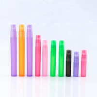 Factory Wholesale 3ML 5ML 8ML 10ML 15ML 30ML frosted pp plastic fancy pen spray perfume bottle with pump