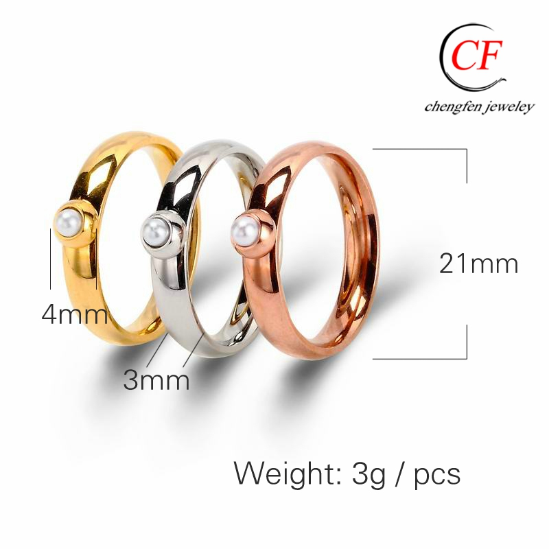 7e32960e1f9f1 Jewelry Manufacturer China Gold Plated Pearl Ring Designs For Men Wholesale  Fashion Finger Ring Solid Pearl Ring Mountings - Buy Pearl Ring ...