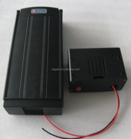 48V Lithium ion Battery; 48V10Ah Electric Bike Li-ion Battery / Rear Rack / Flat / Frame Mounting / 350W / 500W Motor / Bicycle