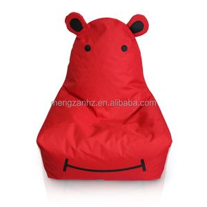 Admirable Mengzan Animal Shape Hippo Bean Bag Chair Kids Creativecarmelina Interior Chair Design Creativecarmelinacom