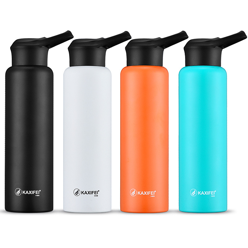 750ml <strong>Sports</strong> stainless steel water bottle double wall insulated <strong>Sport</strong> bike BPA FREE travel drink water bottle Amazon