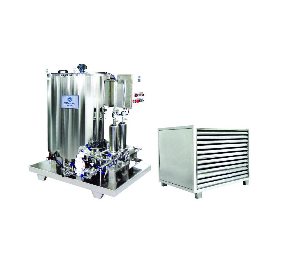 XS hot sale perfume frozen filter, perfume making machine, perfume making production line from China Guangzhou manufacturer