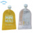 Shiny lamination clear plastic bag Juce pouch for fruit juice