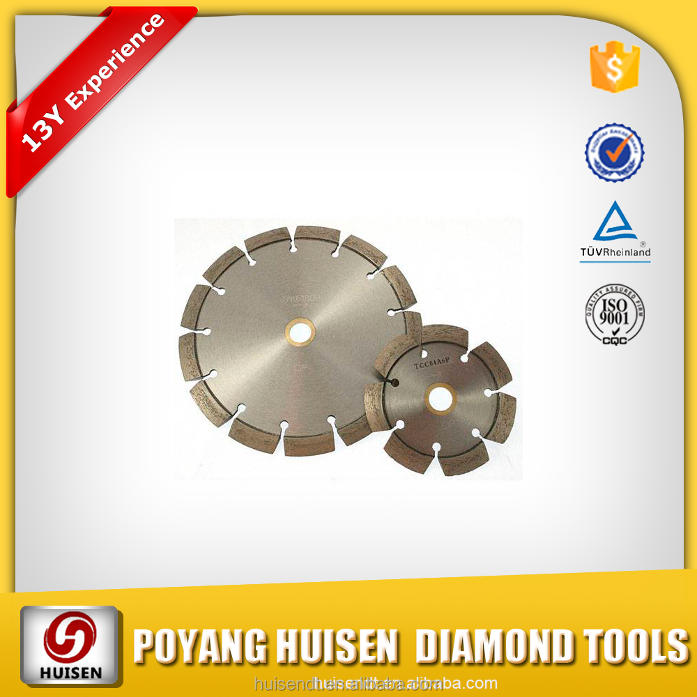 General Purpose Use Segmented Core Dimond Blade