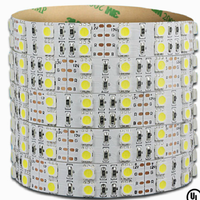 Brightness Epistar Nature White DC 24 V LED Strip smd 5050 600led 5m LED tape strip light Factory