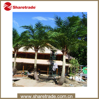 wholesale outdoor decorative artificial palm trees