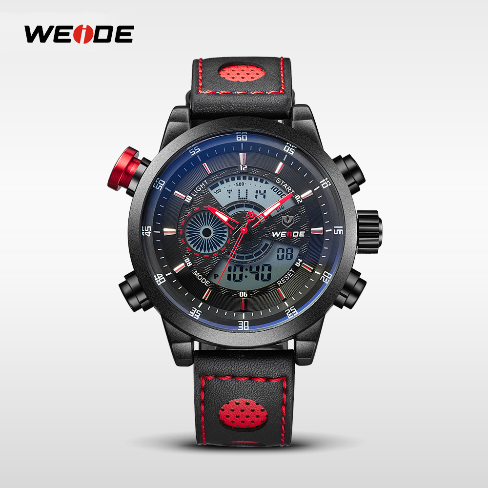 WEIDE WH3401 waterproof watch custom 3atm water resistant wach for man