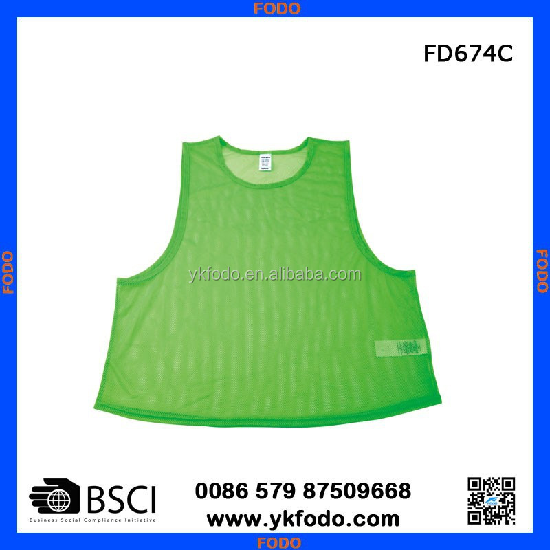 Football Player Vest,Mesh Bibs Training Vest,Sports Vest Fd674c ...