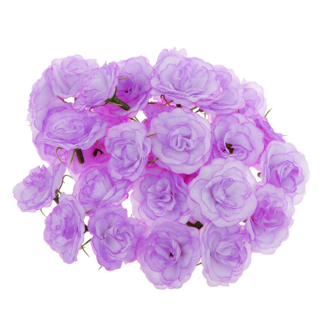 Cheap bulk silk flower heads find bulk silk flower heads deals on get quotations generic artificial faux silk rose flower heads bulk wedding party decor lilac pack of 50 izmirmasajfo