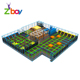 Large Jumping Mat Indoor Professional Commercial Sky Zone High Jump Trampoline Park Equipment