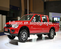 Factory brand new crew cab 4wd double cabin China pickup truck