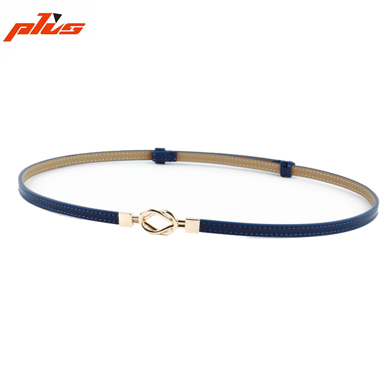 Adjustable Women's High-end Minimalist Slim Thin Belt Ladies Decorated Belt