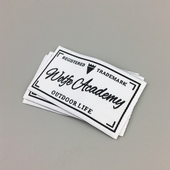satin label woven label suppliers