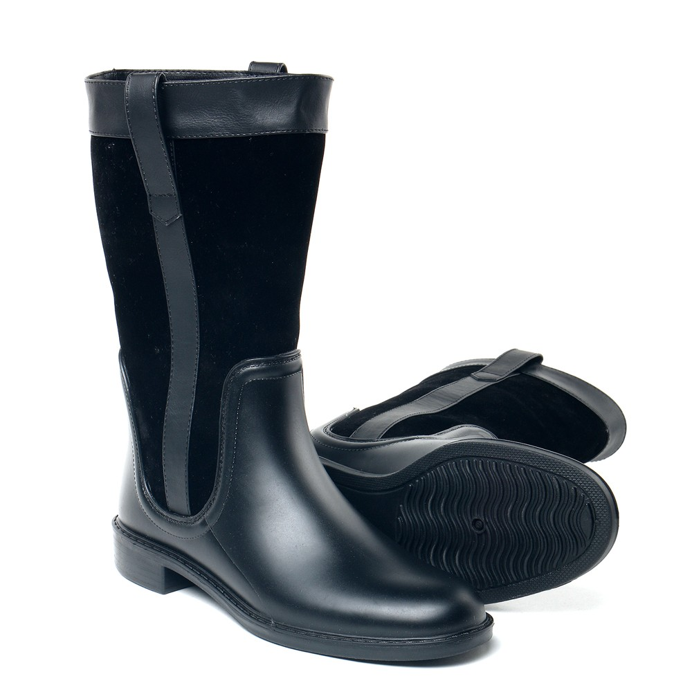 Aba Shoes Rain Boots Waterproof Ladies Shoes
