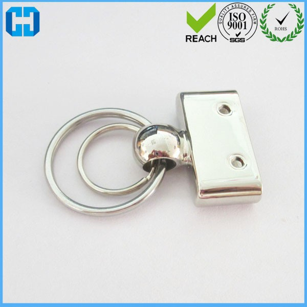 Leather Men's Simple Key Chains Holder Keyring Keyfob For Car Accessories