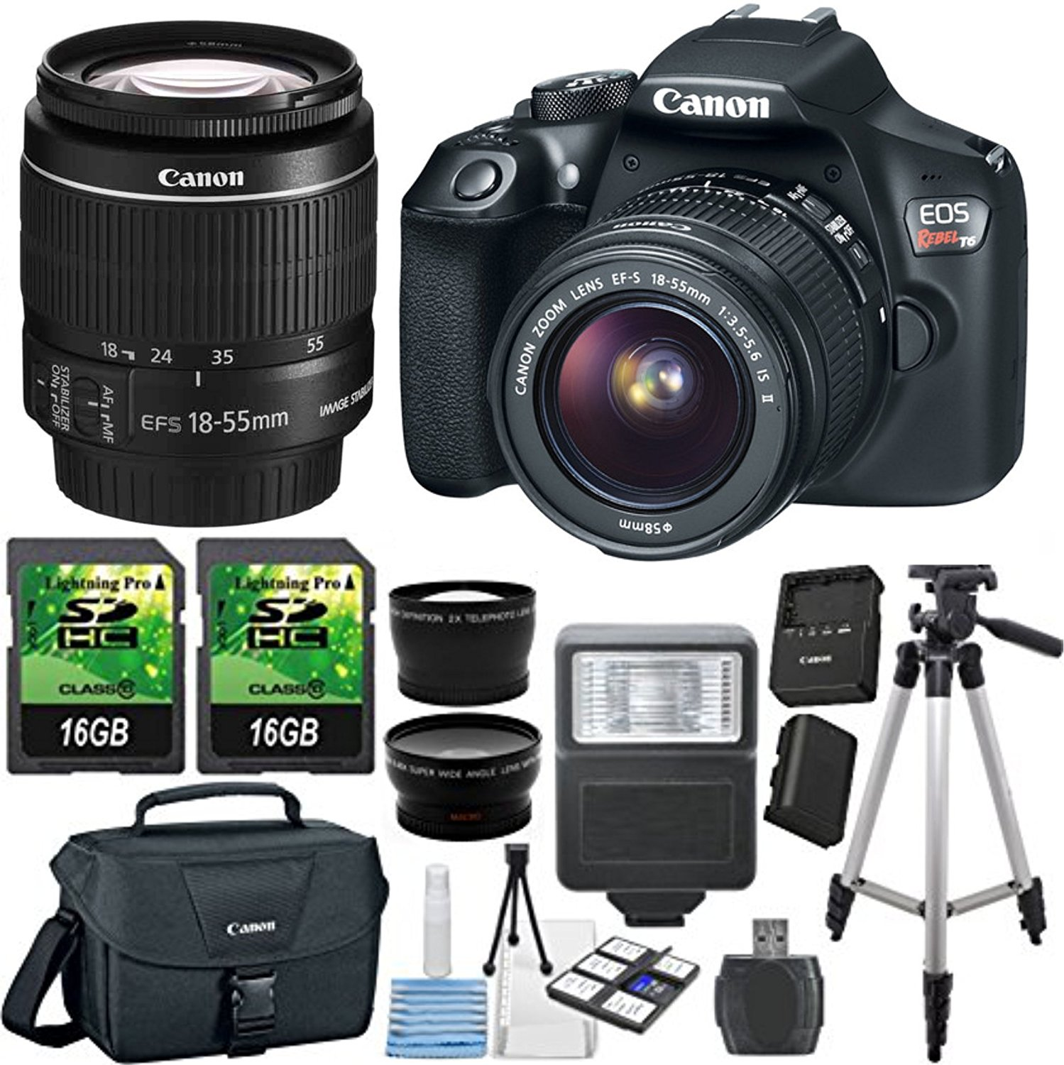 Cheap High Speed Camera Canon Find Deals On Eos 80d Wi Fi Dslr With 18 200mm Get Quotations Rebel T6 Digital Slr Kit Ef S 55mm F
