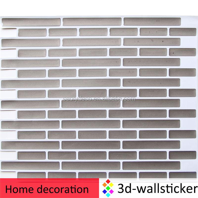 Professional light-weight plastic wall tile sheets for kitchen and bathroom