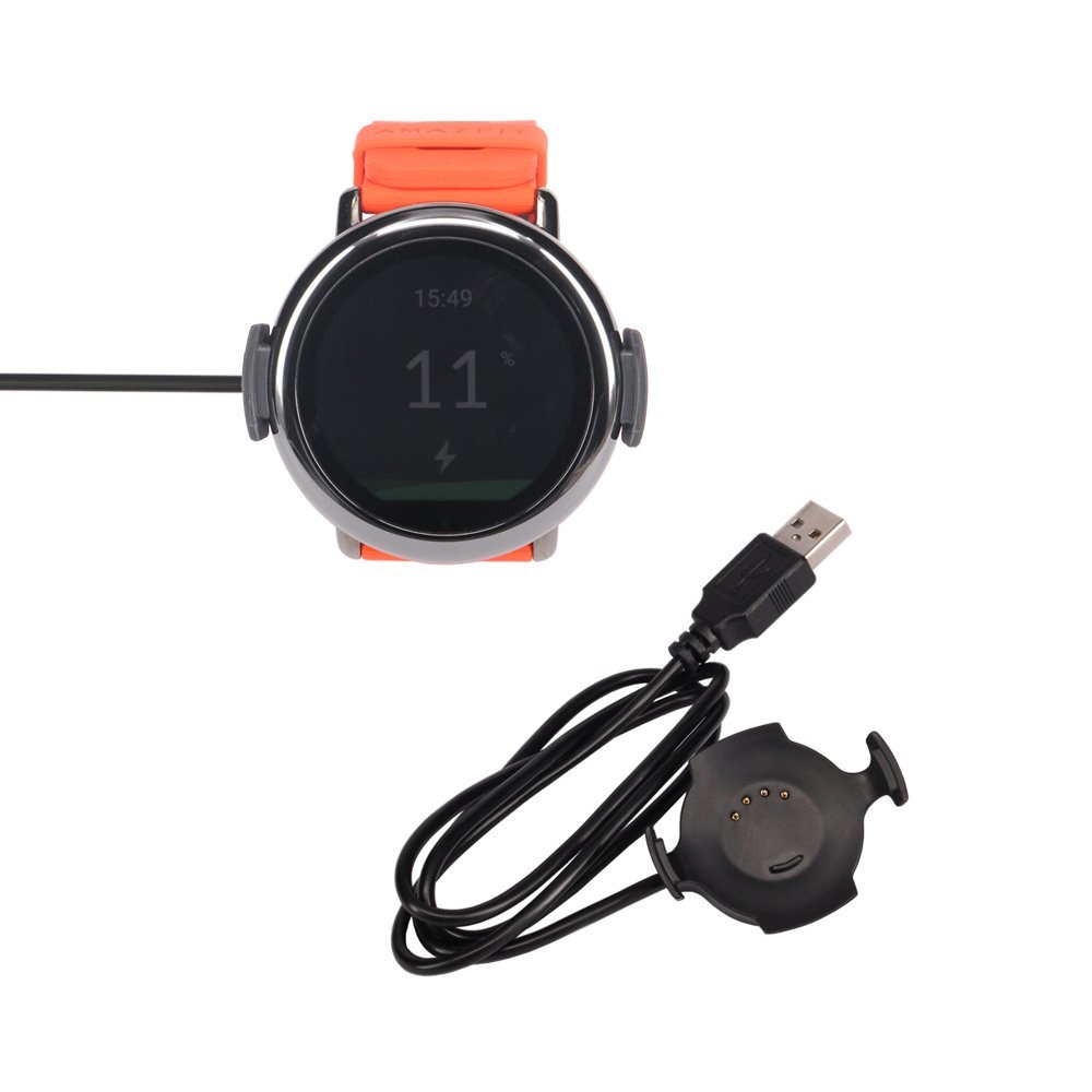 Meijunter Data Sync Clip Cradle Charging Dock Charger Adapter Station for Amazfit Xiaomi Huami A1602 Smart Watch