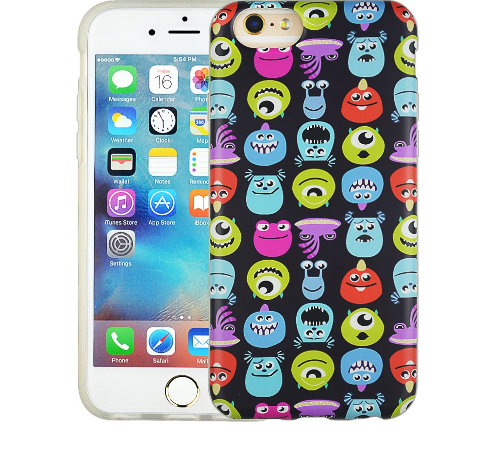 "New Protector Phone Pattern Soft Back Skin 4.7"" 1.2MM TPU Case Cover For Iphone 6"
