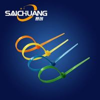 High Quality 316 plastic zip lock strips self-locking nylon cable tie back to back 4' inch 100 x 2.5mm zip tie