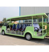 Wholesale Cheap 7.5KW 72V 14 Seats Electric Sightseeing bus Electric Tour Car for sale