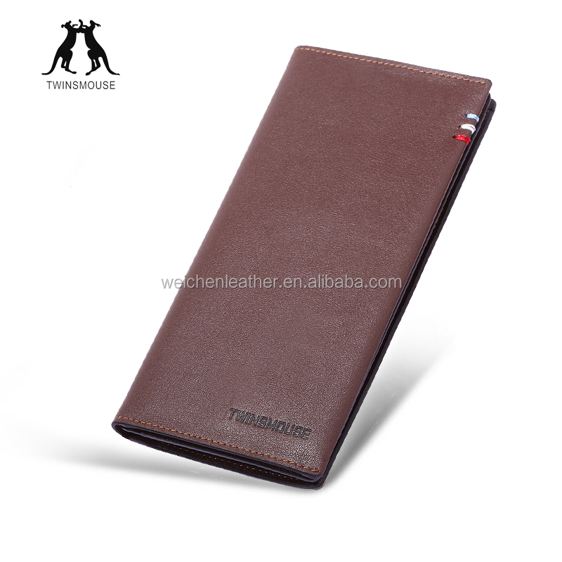 New Products Wholesale Promotional Weichen Leather Men's Wallet