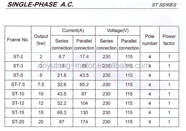 St St 3 30kw Three Phase Sychronous Ac Alternator Buy Ac Stc