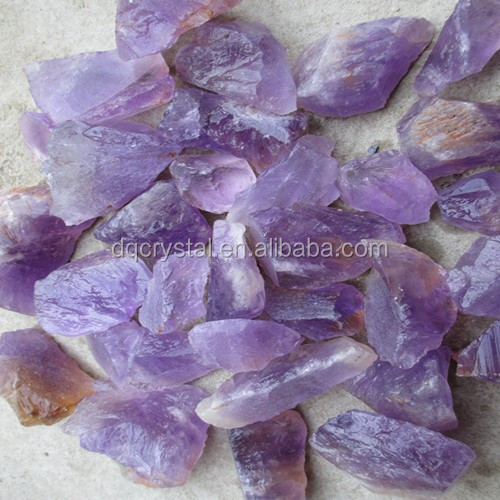inventory natural rough cut amethyst stones wholesale