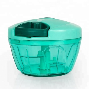 Mini Pull Manual Food Chopper Dicer Teal For Amazon Hot Selling
