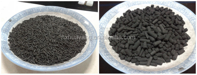 4mm Granular Activated Carbon Made From Coal For Air Clean