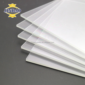 JINBAO white Polystyrene sheet/PS organic board for lighting box