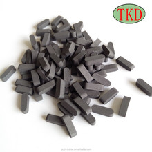 TSP polycrystalline diamond for mining bits and oil drilling bits