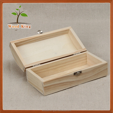 Specializing High-Grade Rectangle Wooden Tea Caddy Green Tea Packaging Your Own Logo Empty Custom Gift Box