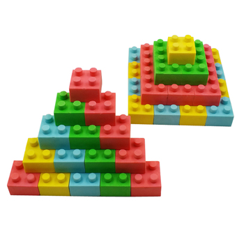 Magic Cube 3d puzzle interesting promotional eraser for kids toys games promotional gifts eraser