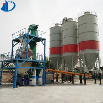 15-20T/H automatic exterior wall putty mortar dry production line of dry mortar