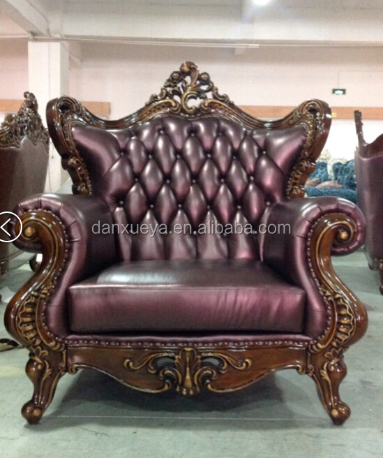 Antique Reproduction Furniture Whoesale High End Throne Noble Leather Sofa  - Buy Heated Leather Sofa,Purple Leather Sofa,Italy Leather Sofa Product on  ... - Antique Reproduction Furniture Whoesale High End Throne Noble