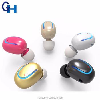 327a1fd7a84 Higi Q13 Super Mini Invisible Hidden Headphones Spy in Ear Plugs Earphone  Micro Wireless Bluetooth Earbud