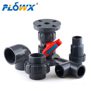 CPVC UPVC PVC straight pipe straight joint elbow tee fittings