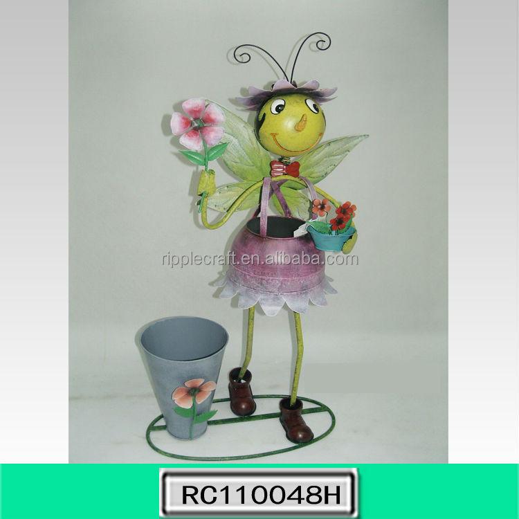 Garden Decor Metal Bee Suppliers And Idea