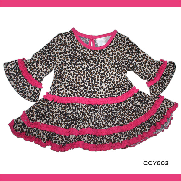 Latest Summer Style Wholesale Boutique Cute Leopard Small Baby ...