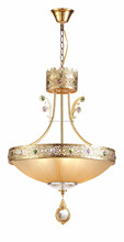 modern design chandelier crystal iron decorative hanging lamp