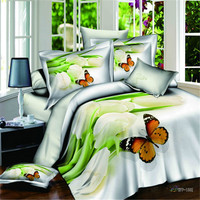 Best quality alibaba china supplier 3d bedsheet set stock bedding set 100% cotton custom any size